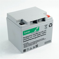 Batterie de démarrage technologie AGM Start and Stop pour bateau BATTERIE AGM DUAL PURPOSE LUCAS - LSLC42-12