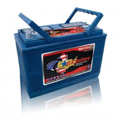 US BATTERY DEEP CYCLE - 130Ah (12v)