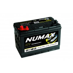 Batterie DUAL PURPOSE tous types d'applications : Démarrage, Servitude en décharge lente, Secours, Radio...etc NUMAX MARINE - XV27MF