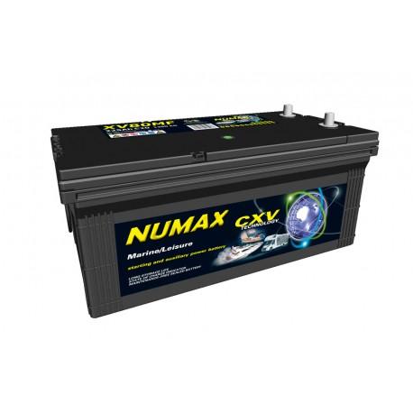 Batterie pour tous types de bateaux NUMAX MARINE - XV80MF