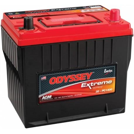 Batterie pour tous types de bateaux ODYSSEY Extreme SeriesTM PLOMB PUR - PC1400-25