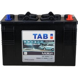 batteries TAB MOTION TUBULAIRE - 95T