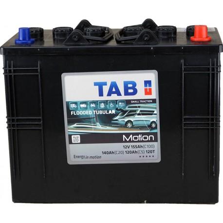 Batterie pour tous types de bateaux TAB MOTION TUBULAIRE - 120T
