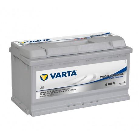 Batterie pour tous types de bateaux VARTA® Professional Dual Purpose - LFD90