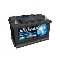 Batterie de démarrage moteur pour bateau NUMAX MARINE - MVL3MF / LVL3MF