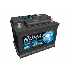 Batterie pour bateau à moteur Batterie NUMAX MARINE DEMARRAGE 60 (Ah) - MVL2MF