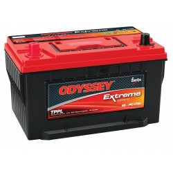 Batterie DUAL PURPOSE tous types d'applications : Démarrage, Servitude en décharge lente, Secours, Radio...etc ODYSSEY Extreme SeriesTM PLOMB PUR - PC1750