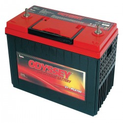 Batterie DUAL PURPOSE tous types d'applications : Démarrage, Servitude en décharge lente, Secours, Radio...etc ODYSSEY Extreme SeriesTM PLOMB PUR - PC680