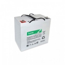 Batterie Dual Purpose AGM pour tous types d'applications bateaux BATTERIE AGM DUAL PURPOSE LUCAS - LSLC55-12