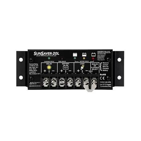Régulateur solaire MORNINGSTAR SUNSAVER SS-20L 12V