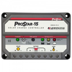 Régulateur MORNINGSTAR PROSTAR 15 A 12-24 V