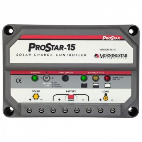 Régulateur solaire Régulateur MORNINGSTAR PROSTAR 15 A 12-24 V