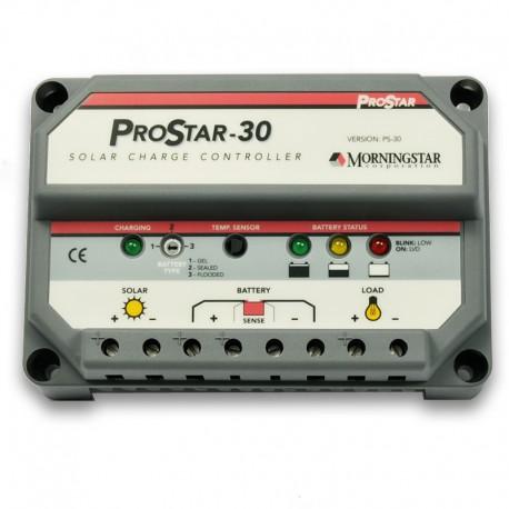 Régulateur solaire Régulateur MORNINGSTAR PROSTAR 30 A 12-24 V