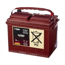 Servitude à Bord Batterie traction TROJAN Deep-Cycle 24 TMX 12V 85AH