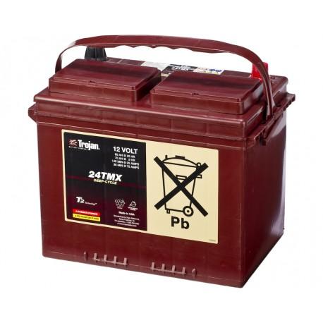 Batterie pour bateau Batterie traction TROJAN Deep-Cycle 24 TMX 12V 85AH