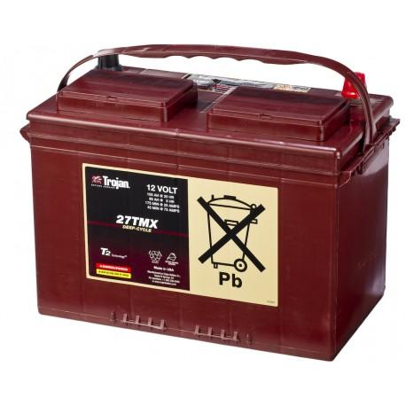 Batterie pour tous types de bateaux Batterie traction TROJAN Deep-Cycle 27 TMX 12V 105AH