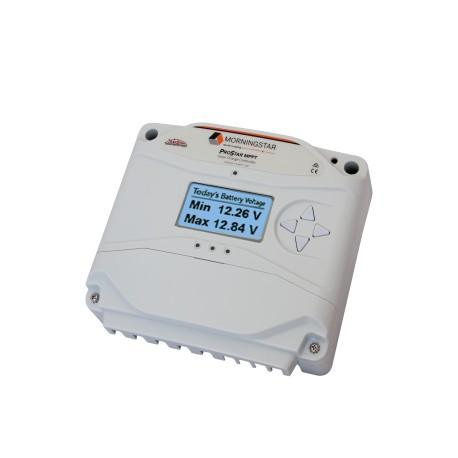 Régulateur solaire Régulateur MORNINGSTAR PROSTAR MPPT 25A 12-24 V