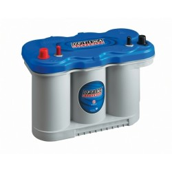 Batterie Dual Purpose AGM pour tous types d'applications bateaux OPTIMA Blue Top - BT DC - 5.0