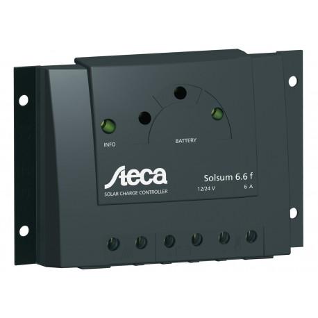 Régulateur solaire Regulateur STECA Solsum F 6A
