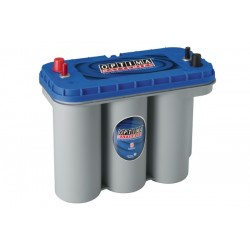 Batterie de démarrage technologie AGM Start and Stop pour bateau OPTIMA Blue Top - BT DC - 5.5