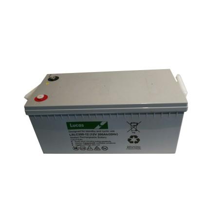 Batterie pour tous types de bateaux LUCAS AGM DUAL PURPOSE 200Ah