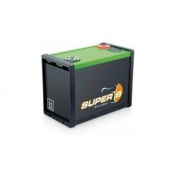 Batterie de propulsion technologie lithium pour bateau Batterie Lithium-Fer Super B 100 Ah (12V)