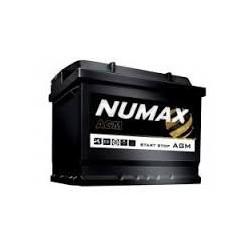 Batterie pour bateau à moteur NUMAX AGM marine demarrage 60Ah-680 (en)