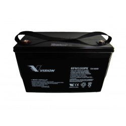 BATTERIE PLOMB PUR DEEP CYCLE 12V 110Ah