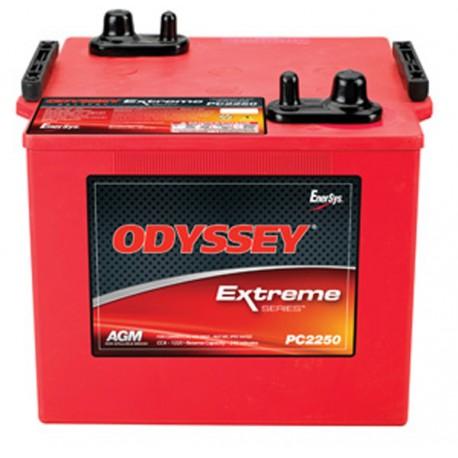 Batterie pour tous types de bateaux ODYSSEY Plomb Pur PC2250-126Ah / Extreme SeriesTM
