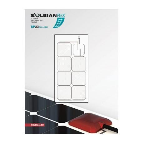 Panneaux solaires souples PANNEAUX SOLAIRE SOLBIAN SUN-POWER ALLINONE 23W