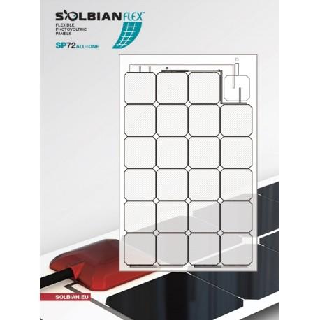 Panneaux solaires souples PANNEAUX SOLAIRE SOLBIAN SUN-POWER ALLINONE 47W