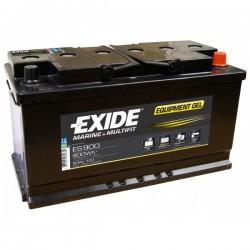 Batterie pour voilier Batterie Gel Exide ES900 12V 80AH