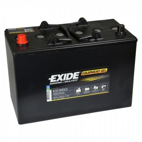 Batterie pour tous types de bateaux Batterie Gel Exide ES950 12V 85AH