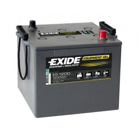 Batterie pour bateau Batterie Gel Exide ES1200 12V 110AH