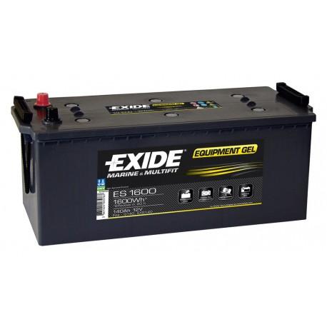 Batterie pour tous types de bateaux Batterie Gel Exide ES1600 12V 140AH