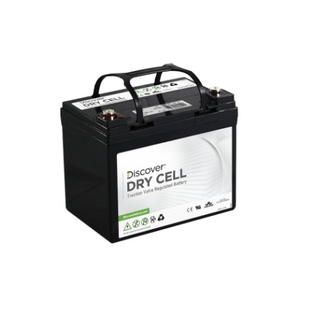 Batterie pour tous types de bateaux DISCOVER DEEP CYCLE AGM 33 Ah (12v)