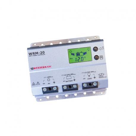 Régulateur solaire Regulateur de charge solaire WesternCo WMARINE 20