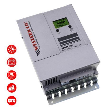 Régulateur solaire Regulateur de charge solaire WesternCo WMARINE 30