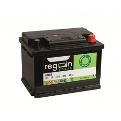 Batterie de démarrage moteur pour bateau REGAIN Démarrage 60Ah - 540A (en)