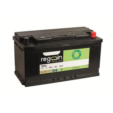 Batterie pour tous types de bateaux REGAIN Démarrage 90Ah - 740A (en)
