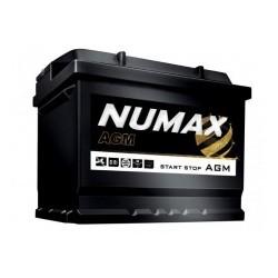 Batterie pour tous types de bateaux NUMAX AGM marine demarrage 80Ah-800A