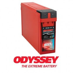 Batterie DUAL PURPOSE tous types d'applications : Démarrage, Servitude en décharge lente, Secours, Radio...etc ODYSSEY Extreme SeriesTM PLOMB PUR - PC1800